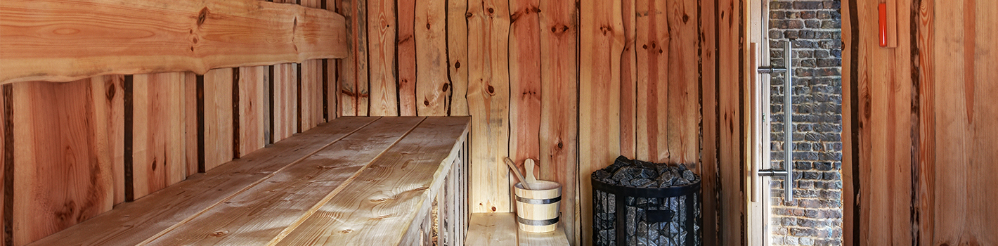 finse sauna sfeer banner